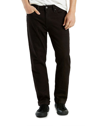 LeviS Commuter 541 Athletic Fit Jeans Black-BLACK-34X32