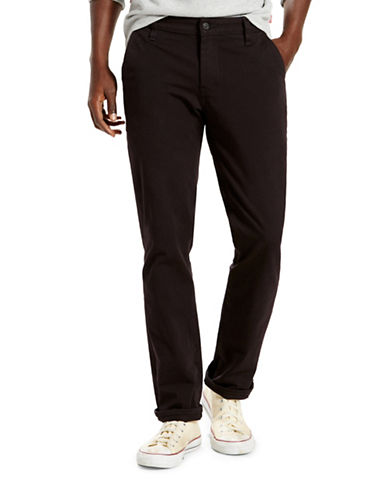 LeviS Commuter 511 Slim Trousers-BLACK-32X32