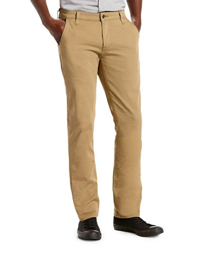 LeviS Commuter 511 Slim Trousers-GOLD-33X32