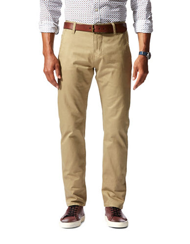 Dockers Tapered Slim-Fit Khaki Pants-KHAKI-32X32