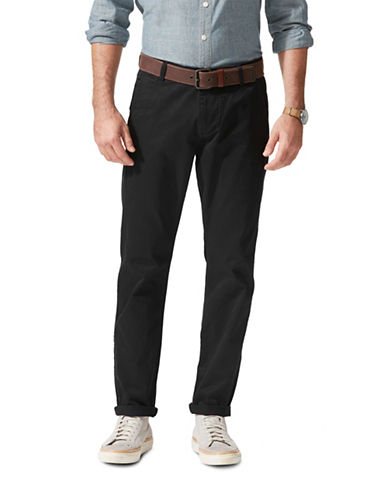 Dockers Tapered Slim-Fit Khaki Pants-BLACK-32X30
