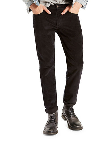 LeviS 511 Slim-Fit Corduroy Pants-BLACK-33X32