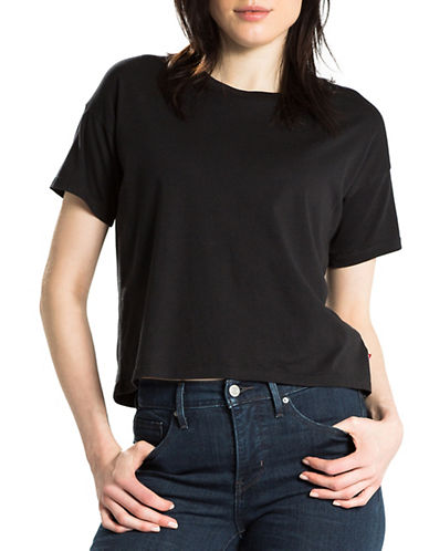Levi'S Solid Cali Tee-BLACK-Medium 88616985_BLACK_Medium