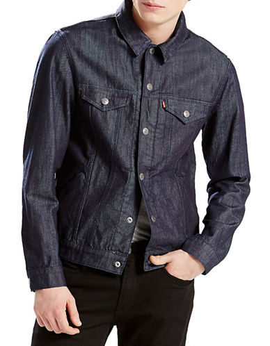 LeviS Commuter Trucker Jacket Indigo-BLUE-X-Large