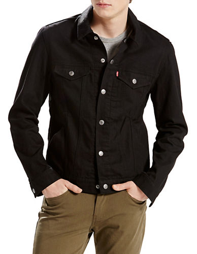 LeviS Commuter Trucker Jacket Indigo-BLACK-Small