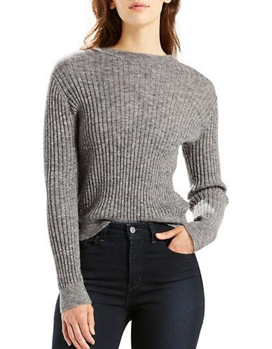Levi'S Bernadette Wool-Blend Sweater-GREY-X-Large 88789100_GREY_X-Large