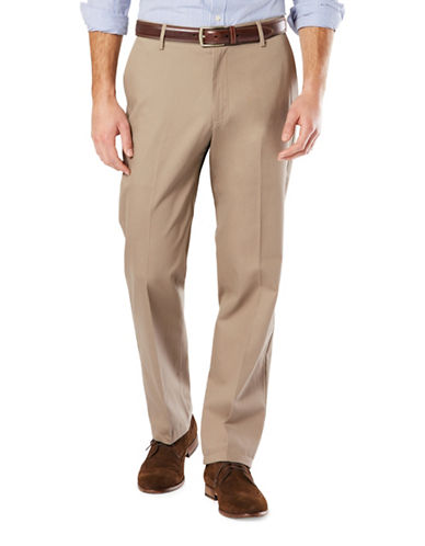 Dockers Big and Tall Signature Khaki Pants-BEIGE-44X30
