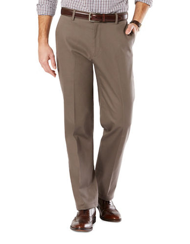Dockers Signature Khaki Pants-BROWN-50X32