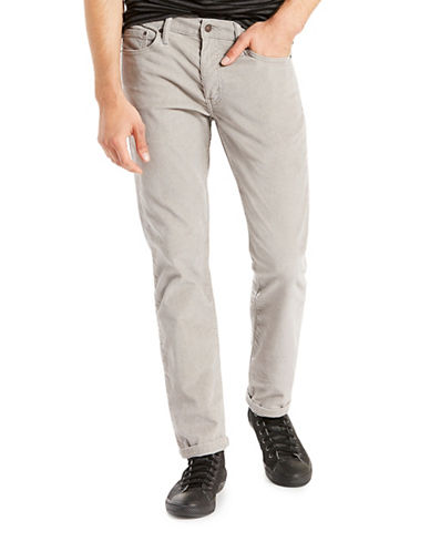 LeviS 511 Slim Fit Corduroy Pants Griffin-GREY-34X32