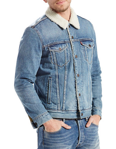 Levi'S Sherpa Trucker Jacket-BLUE-Small 88662309_BLUE_Small