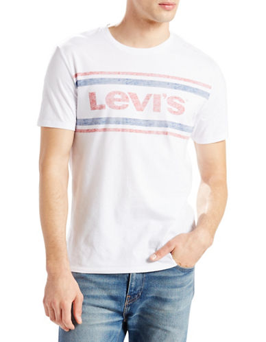 Levi'S Solid Graphic Tee-WHITE-Small 88662365_WHITE_Small