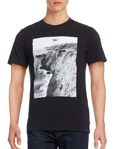 Levi'S Coastal Graphic T-Shirt-BLACK-Small 88662393_BLACK_Small