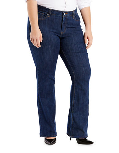 LeviS Plus Relaxed Bootcut Fit Jeans-BLUE-20W