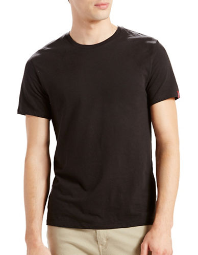 Levi'S Crew Neck Cotton Tee-BLACK-X-Large 88741454_BLACK_X-Large