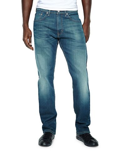 LeviS 505 Regular-Fit Jeans-BLUE-33X34