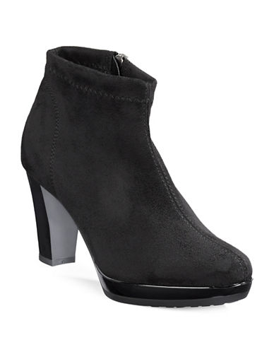 Rapisardi Ron White Vara Side Zip Ankle Boots-BLACK-EUR 40/US 10