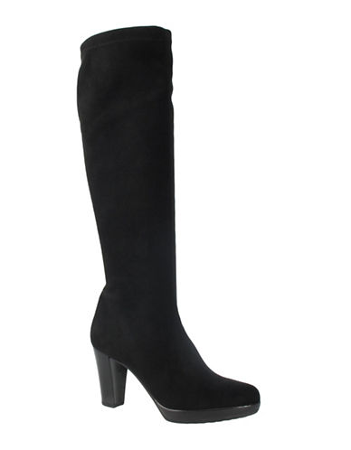 Ron White Rapisardi by Ron White Velda Platform Boots-BLACK-EUR 40/US 10