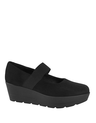 Rapisardi Ron White Maddie Suede Mary Jane-BLACK-EUR 39/US 9