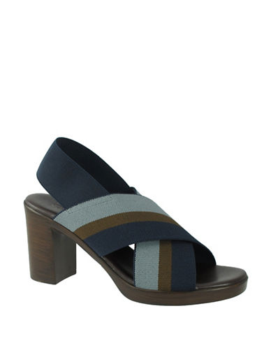 Rapisardi Ron White Fanny Stripe Sandals-DENIM-EUR 39/US 9