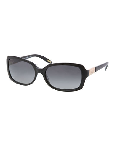 Ralph By Ralph Lauren Eyewear Ra5130 Ralph Plastic Oval Sunglasses-BLACK AND PINK STRIPED-One Size