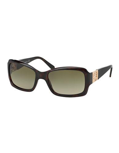 Tory Burch Classic Square Sunglasses-TORTOISE-One Size