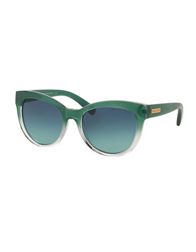 Michael Kors Mitzi I 53mm Square Sunglasses-GREEN-One Size