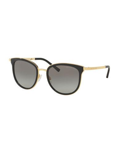 Michael Kors 0MK1010 54mm Phantos Sunglasses-BLACK-One Size