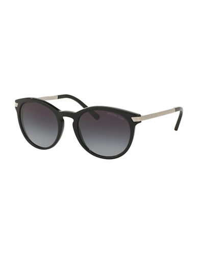 Michael Kors 0MK2023 Standard 53mm Round  Sunglasses-BLACK-One Size