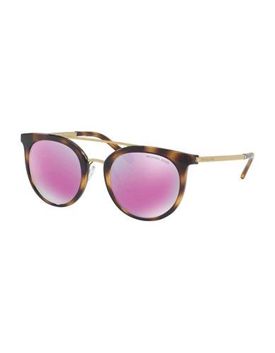 Ray-Ban 50MM Round Sunglasses-FUSCHIA-51 mm