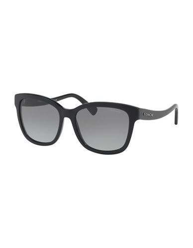 Ray-Ban 60mm Tortoiseshell Wayfarer Sunglasses-GREY-55 mm