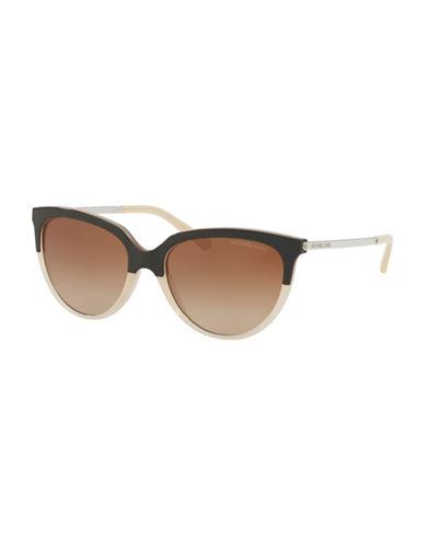 Ray-Ban 55MM Cat Eye Sunglasses-BROWN-61 mm