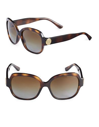 Ray-Ban 55mm Cat-Eye Wayfarer Sunglasses-BROWN-61 mm