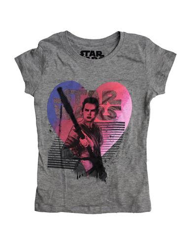 Star Wars Heart Rae T-Shirt-GREY-Medium 88758200_GREY_Medium