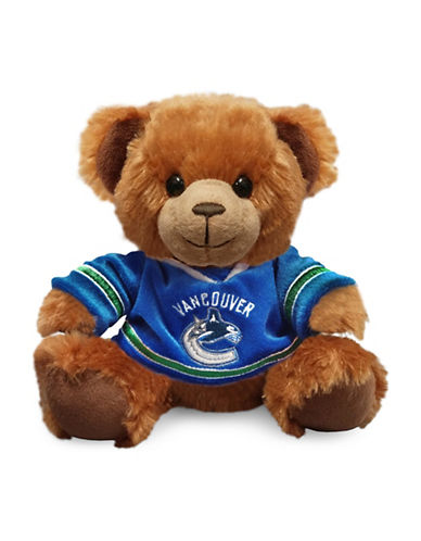 Forever Collectibles NHL Vancouver Canucks Jersey Sweater Bear-BLUE-One Size