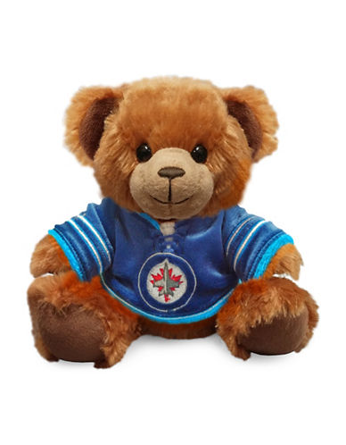 Forever Collectibles NHL Winnipeg Jets Jersey Sweater Bear-BLUE-One Size