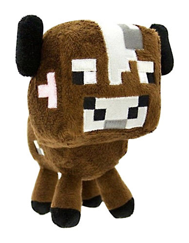 Minecraft Cow Plush Doll-MULTI-One Size 88696046_MULTI_One Size