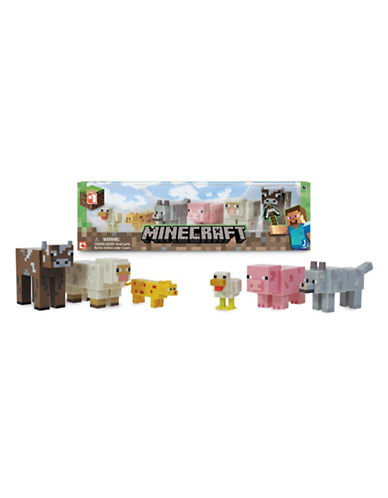 Minecraft Core Animal Six-Pack-MULTI-One Size