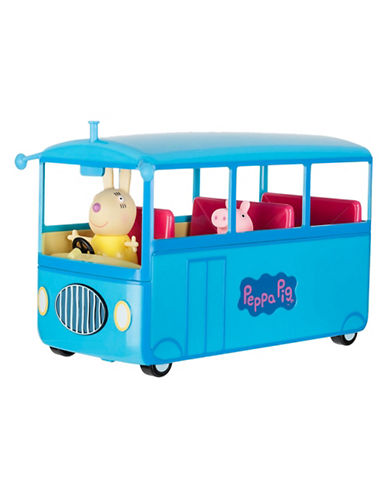 Peppa Pig Peppa School Bus-MULTI-One Size