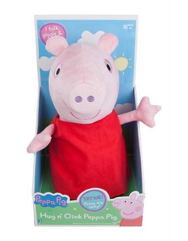 Peppa Pig Hug N Oink Peppa Pig Plush Doll-MULTI-One Size