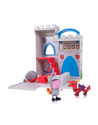 Peppa Pig Peppa Pig Little Places Castle Fort Set-MULTI-One Size