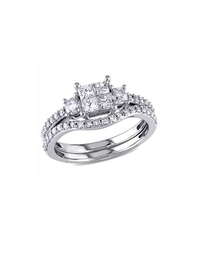 Concerto 1CT Diamond 14K White Gold Bridal Set-DIAMOND-5