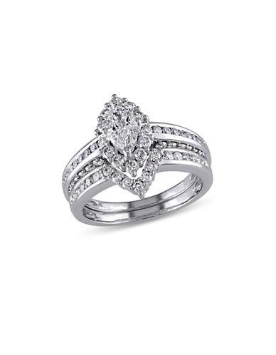 Concerto 1.45CT Diamond 14K White Gold Bridal Set-DIAMOND-6