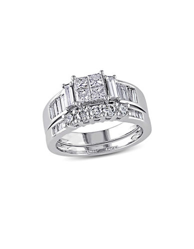 Concerto 1.5CT Multi-Shape Diamond 14K White Gold Bridal Set-DIAMOND-9