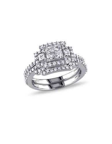 Concerto 1.2CT Diamond 14K White Gold Bridal Set-DIAMOND-7