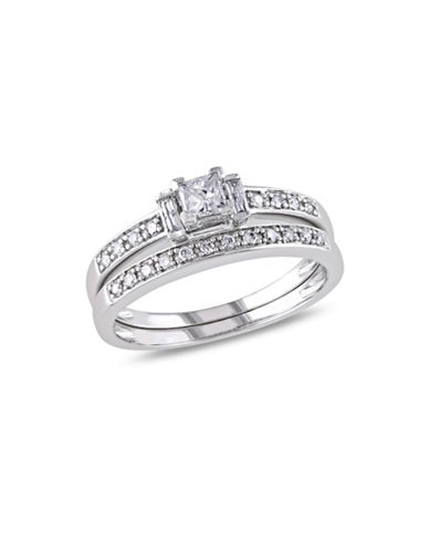 Concerto 0.5CT Multi-Shape Diamond 14K White Gold Bridal Set-DIAMOND-8