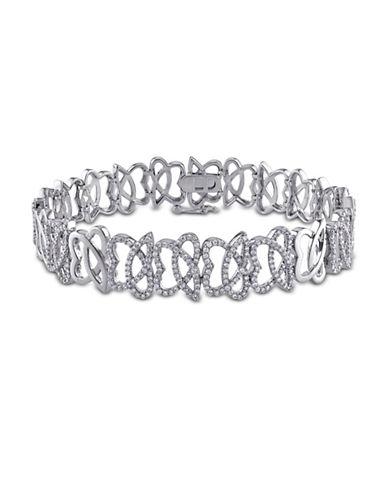 Concerto Julianna B. 14K White Gold 1.1 Total Carat Weight Diamond Bracelet-DIAMOND-One Size