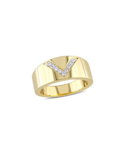 V19.69 Italia Insignia White Sapphire Ring-WHITE-9