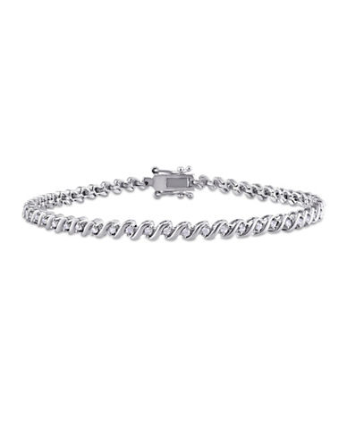 Concerto 0.495 TCW Diamond Tennis Bracelet in Sterling Silver-DIAMOND-One Size