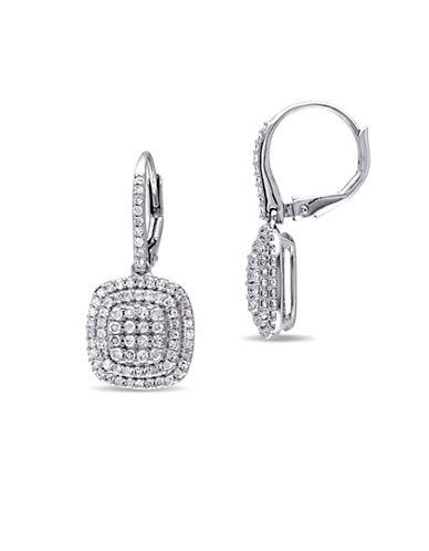 Concerto 1 TCW Diamond Double Halo Earrings-DIAMOND-One Size
