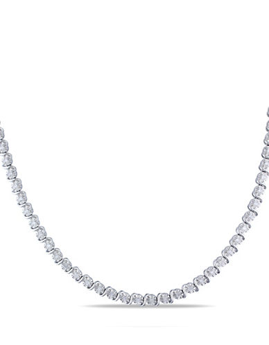 Concerto Sterling Silver Strand Necklace with 0.525 TCW Diamonds-DIAMOND-One Size